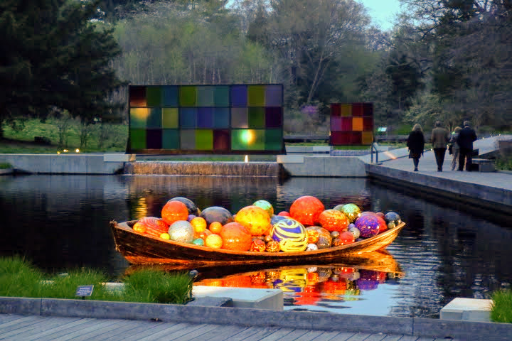 Chihuly Exhibit At The New York Botanical Garden Ovs Landscape Architecture