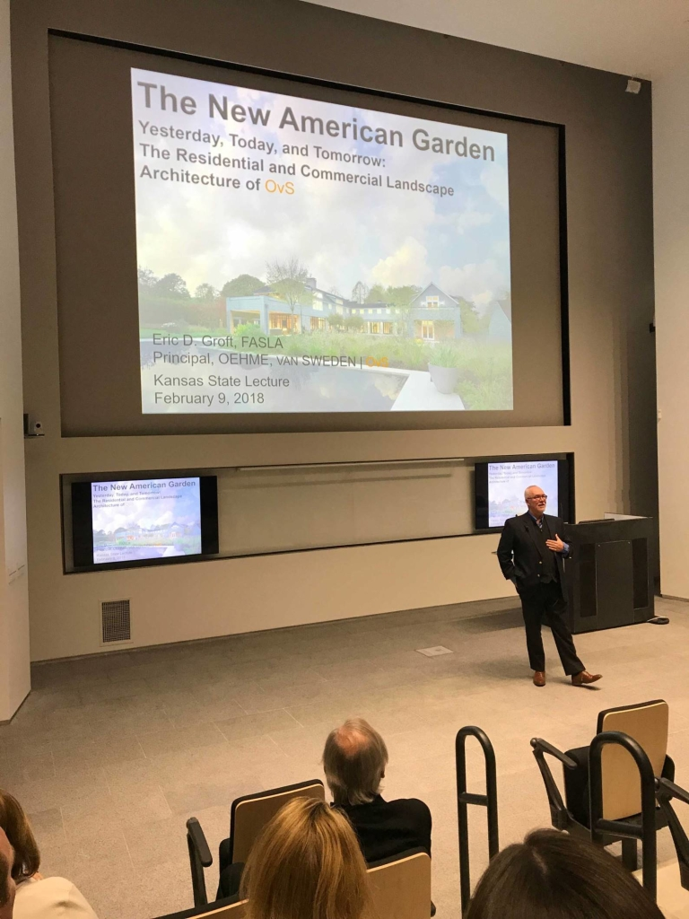 Eric presents The New American Garden