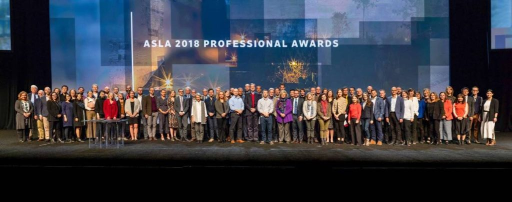 2018 ASLA Award Ceremony
