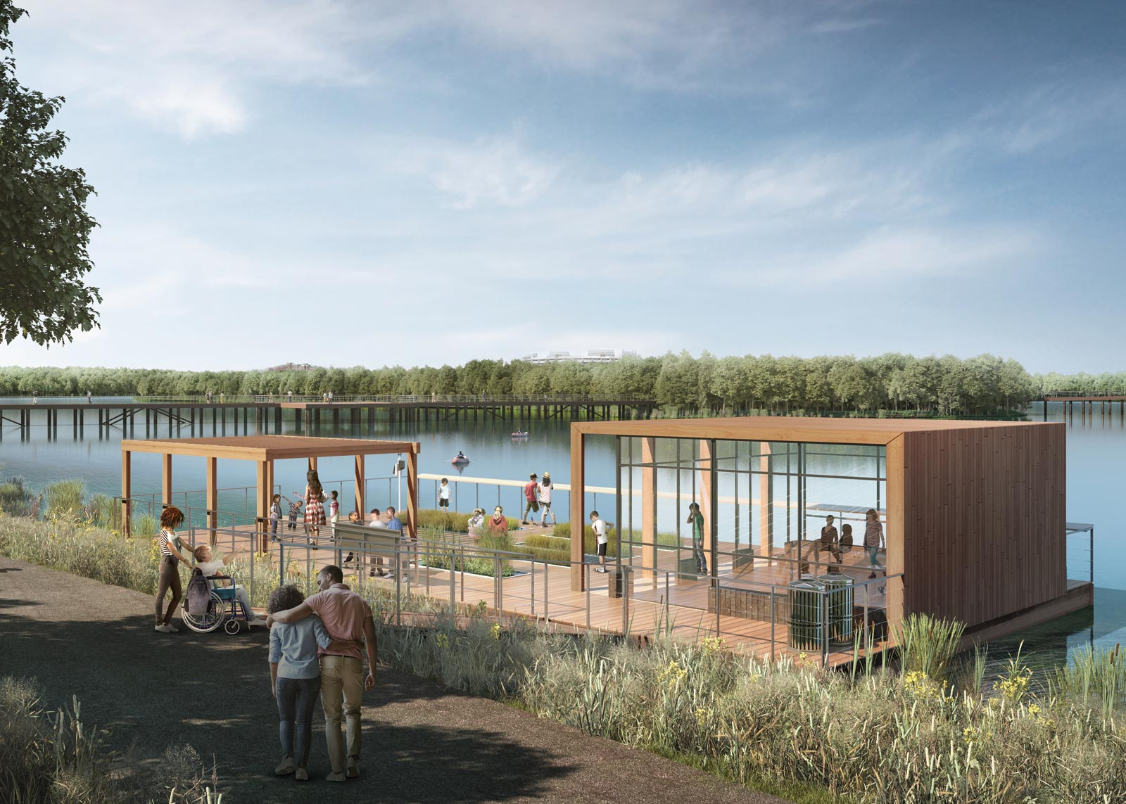 Kingman Island Station Project